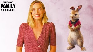 PETER RABBIT Vignette | Margot Robbie is Flopsy in live-action family movie