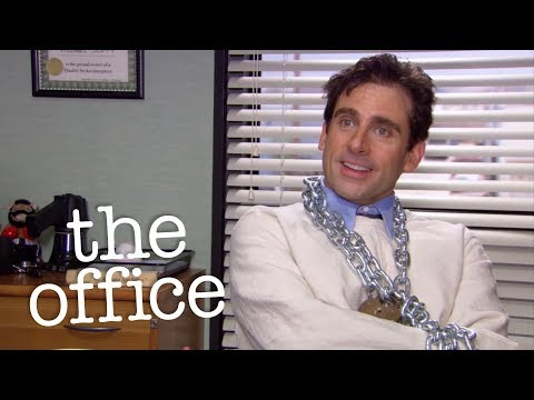 Michael Escapes From Extreme Bondage  - The Office US