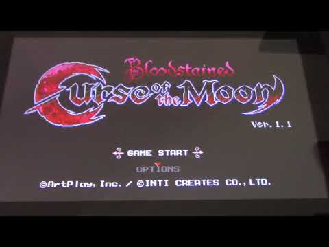Bloodstained curse of the moon Nintendo Switch Game size