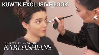 Watch Kylie Jenner Expertly Do Kendall's Makeup | KUWTK Exclusive Look | E!