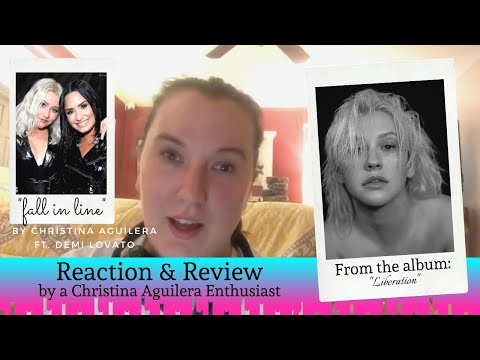 Reaction/Review: Fall in Line / Christina Aguilera ft Demi Lovato