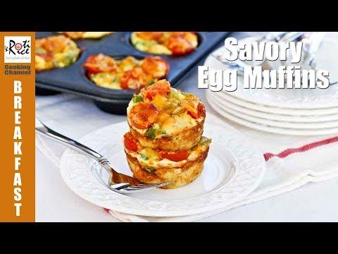 Savory Egg Muffins | Roti n Rice