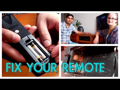 Fix Your Rusty Remote: EASY!