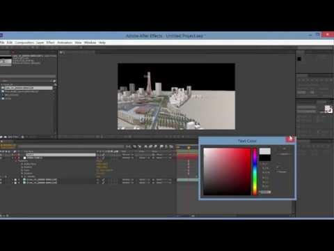 Transitions Between Clips in AfterEffects