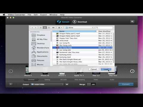 How to Convert MPG/MPEG to MP4