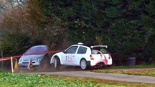 "TOP 10 + crash Rallye Porte Normande 2014 ""peugeot408"""