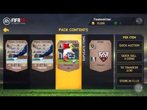 FIFA 15(iOS) Easy Money