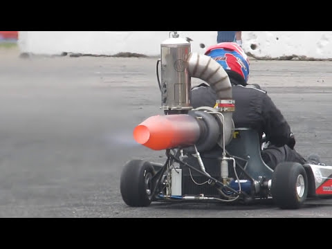 DIY GasTurbine, jet kart, diygt.org... santa pod , bug jam, Andy
