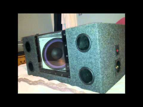 how to make stealth grow box with inside speaker illusion