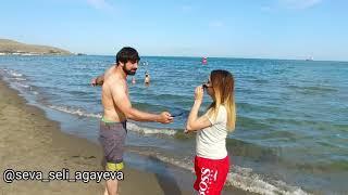 Denizde boqulana komek etmedi (Elcin & Seva)