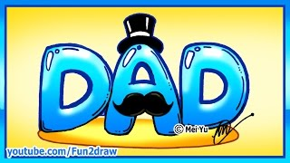 How To Draw Super Hero Dad Letters Easy Music Jinni