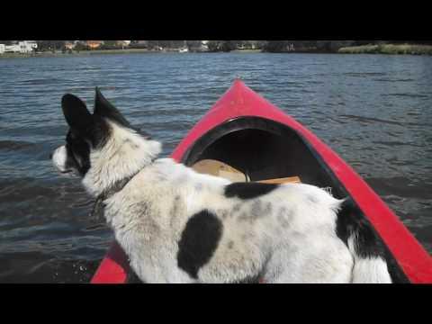 washmachine motor drive small boat canoe 2