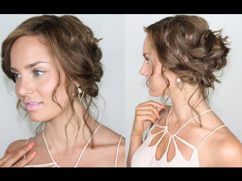 Hair Tutorial: Tousled, Beachy & Chic Summer Updo