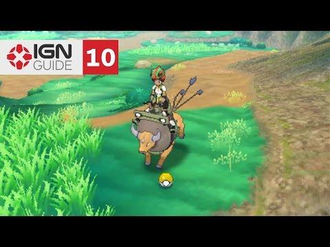 Pokemon: Sun and Moon Walkthrough - Ten Carat Hill