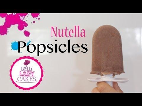 Nutella Popsicles After School Snacks +CakeTalk