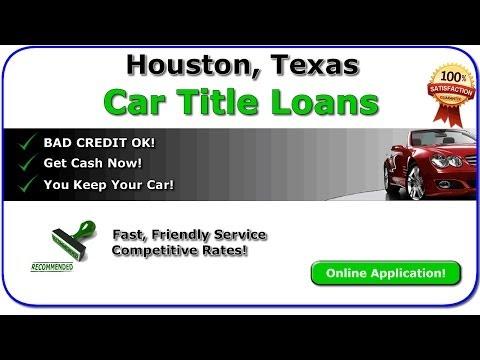 Title Loans Houston Tx - Get Car Title Loans Online