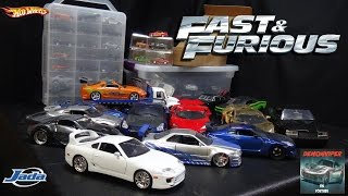 Fast & Furious Car Collection - Hot Wheels, Jada Toys, Racing Champions, Greenlight