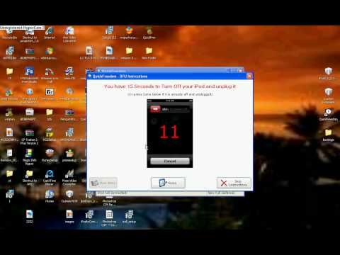 How to Jailbreak your iPod touch 2nd Gen - using Quickfreedom