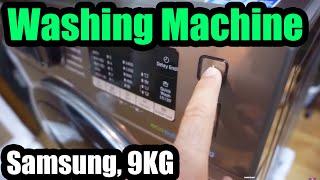 Download Samsung Washing Machine (AddWash, Eco Bubble, 9KG, WW90K5410UX) Video