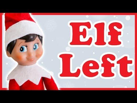 Elf on the Shelf Didn't Come Back Christmas 2017 Vlogmas Day 12