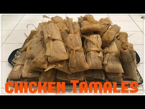 Tricia's Creations: Chicken Tamales