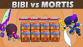 BIBI vs MORTIS | 1vs1 | 27 Test | La espada más fuerte