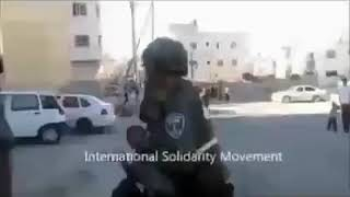 Palestinian Kids And Women Being Oppressed By Israeli Soldiers.