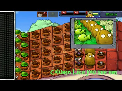 Column Like you see Em | MINIGAMES | Plants VS Zombies