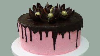 How To Make Chocolate Flowers Cake