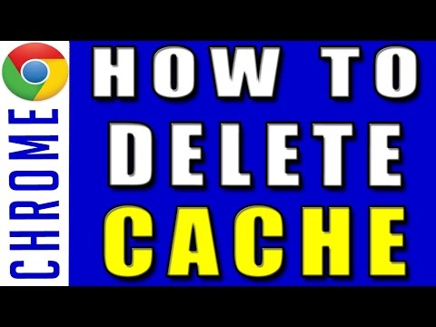 Delete Cached images, files, from Google Chrome | How to Remove Cache, cookies, history in chrome