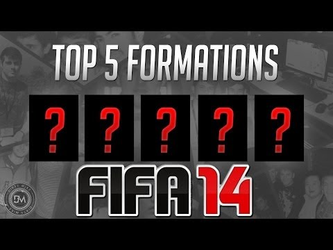 Top 5 Formations in FIFA 14 Ultimate Team (FUT 14) Guide to Best Squad & Best Formations