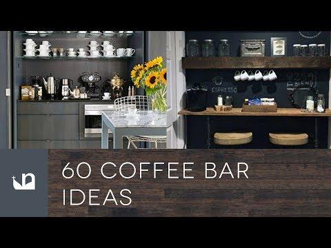 60 Coffee Bar Ideas