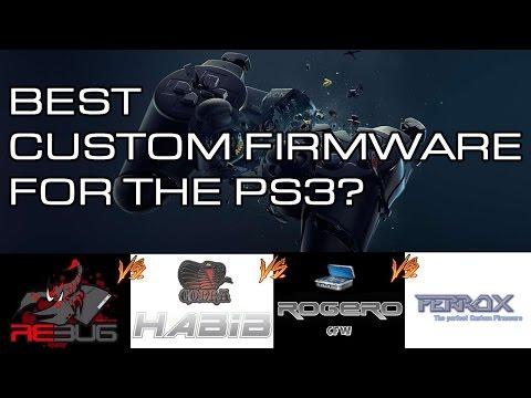 Best Custom Firmware for PS3 - rebug vs habib vs ferrox vs rogero