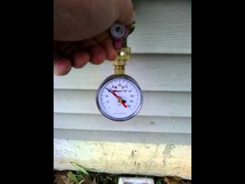 Watts Water Pressure Gauge, Newtown PA