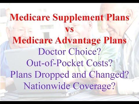 Medicare Supplement Plans vs Medicare Advantage Plans
