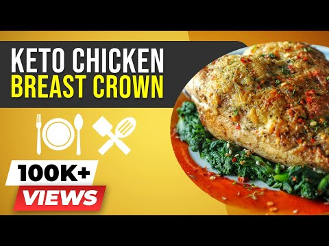 Keto Chicken Breast Crown - BeerBiceps Keto Chicken Recipe