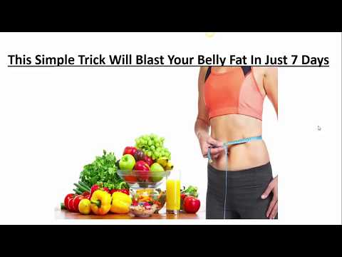 This one simple trick will blast your belly fat in 7 days