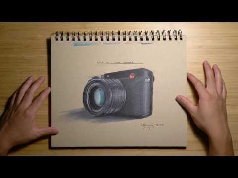 Product Design Sketching Tutorial - Leica Q