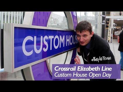 Inside Custom House Crossrail Station