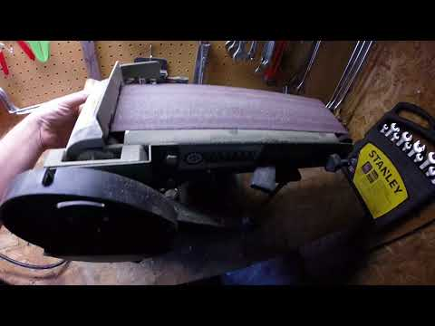 My review on the Harbor Freight Benchtop Belt Sander