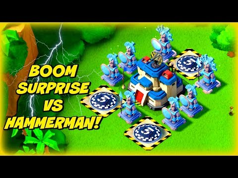 ICE BOOSTED *BOOM SURPRISE* VS HAMMERMAN!