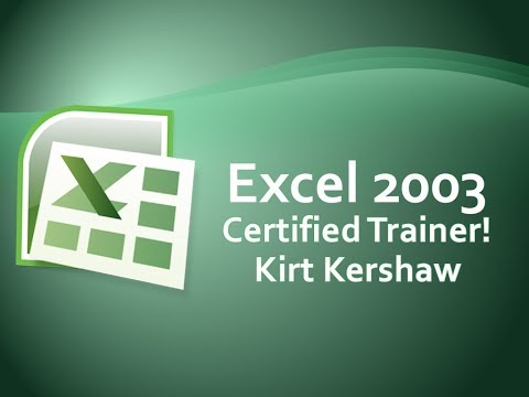 Excel 2003: Chart Options, Titles, Axes, Gridlines, Labels, Legend