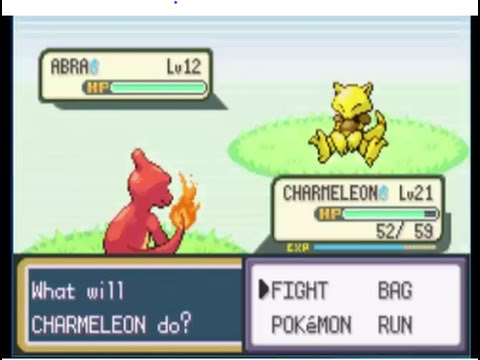 Pokemon Firered walkthrough part 2: Meeting Bill and Catching Abra