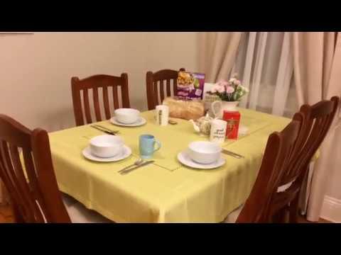 HOMEMAKER TIP: Set the table for breakfast the night before!