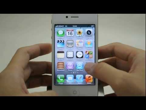 Apple iPhone 4s: Turn off / on data roaming services