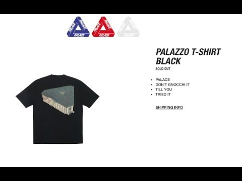 Palace Skateboards SS18 Drop List & Price + Copping Video Fails! 6 1 18