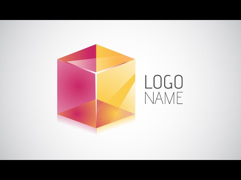 Adobe Illustrator CC | 3D Logo Design Tutorial (Transparent Cube)