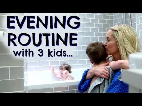 EVENING ROUTINE WITH 3 KIDS & LEFTOVERS IDEA  |  EMILY NORRIS ad