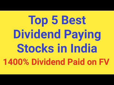 Top 5 Best Dividend Paying Stocks in India 2018 | These Shares Will Make Your Portfolio Rich