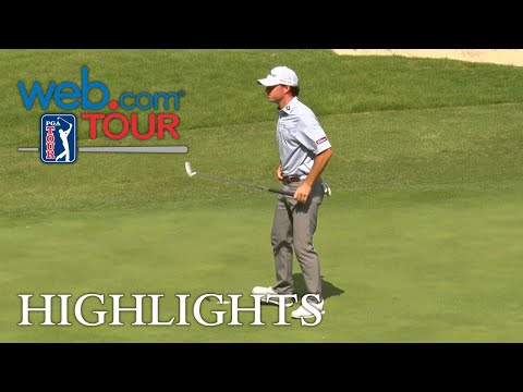 Michael Johnson's approach sets up birdie for Shot of the Day